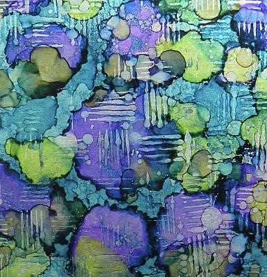 Painting - Spring Weave Ink #4 by Sarajane Helm