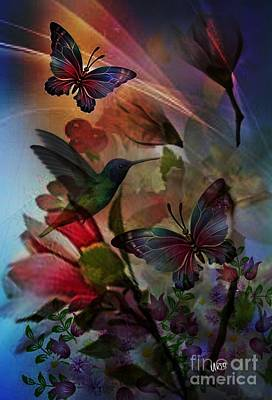 Digital Art - Spring Whispers by Maria Urso