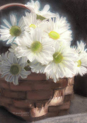 Painting - Spring White Daisies by Melissa Herrin