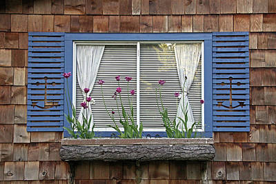 Photograph - Spring Window by Inge Riis McDonald