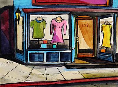 Jmwportfolio Painting - Spring Windows by John Williams
