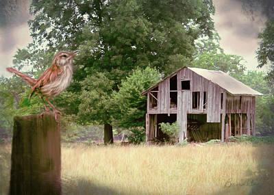 Digital Art - Spring Wonders by Bonnie Willis
