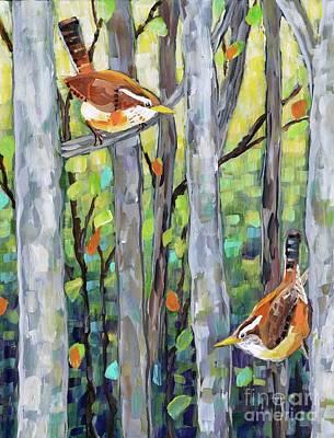 Spring Wrens Original