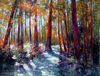 Painting - Springbrook Dynamic by Rae Andrews
