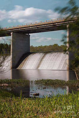Photograph - Springfield Lake Dam by Jennifer White