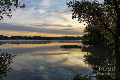 Photograph - Springfield Lake Glorious Morning by Jennifer White
