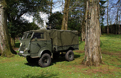 Photograph - Springhill Military Vehicle Fair by Colin Clarke