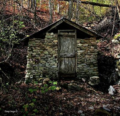 Photograph - Springhouse by Wesley Nesbitt