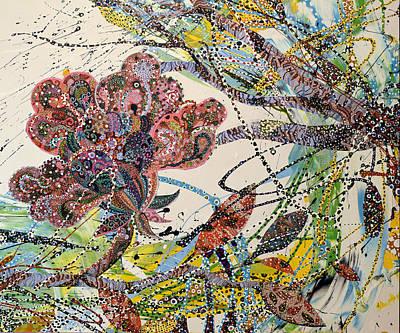 Painting - Springing by Erika Pochybova