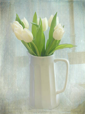 Tulip Chair Photograph - Spring's Bounty by Kim Hojnacki