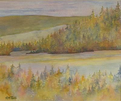 Springs In The Valley Art Print by Lisa Bell