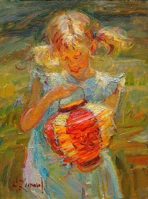 Newton Painting - Spring's Magic by Diane Leonard