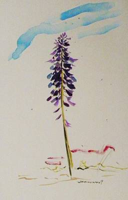 Painting - Spring's Purple Gem by John Williams