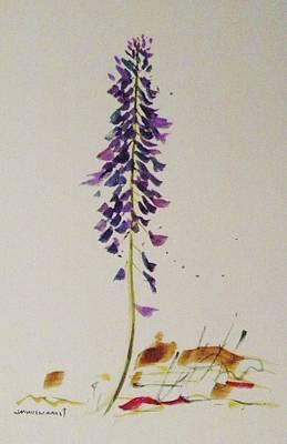 Painting - Spring's Purple Gem L by John Williams