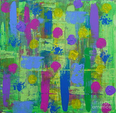 Painting - Springtime Abstract by Jimmy Clark