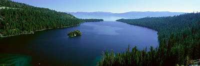 Emerald Bay Photograph - Springtime At Emerald Bay, Lake Tahoe by Panoramic Images