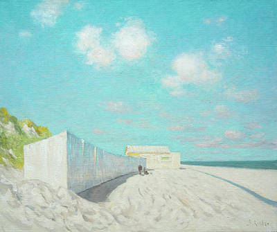 Painting - Springtime At The Beach by Ben Rikken