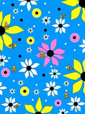 Digital Art - Springtime Bloom by Kathleen Sartoris