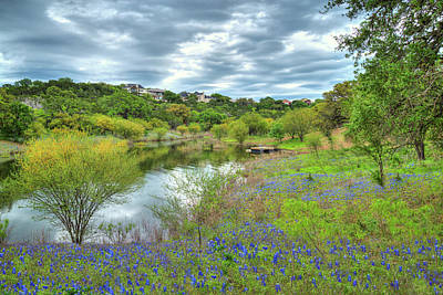 Photograph - Springtime Bluebonnets At Lake Travis by Lynn Bauer
