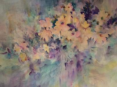 Painting - Springtime Bouquet by Karen Ann Patton