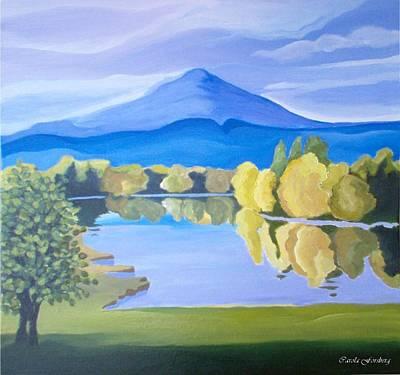 Painting - Springtime by Carola Ann-Margret Forsberg
