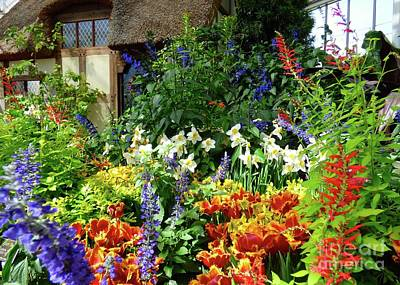 Photograph - Springtime Cottage Garden by Jean Wright