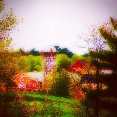 Springtime Farm Art Print