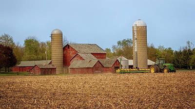 Photograph - Springtime Farming by Susan Rissi Tregoning