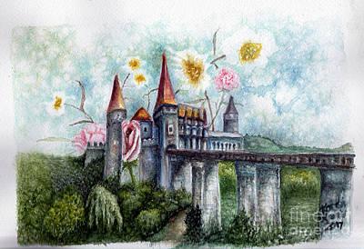 Painting - Springtime For Dracula by Karen Wheeler