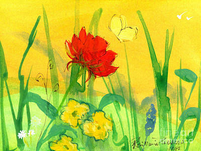 Painting - Springtime Hope by Robin Maria Pedrero