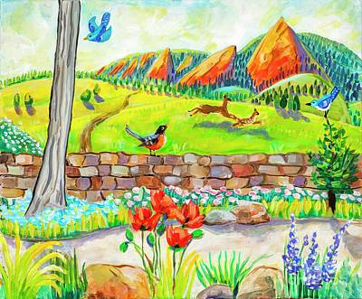 Painting - Springtime In Boulder by Harriet Peck Taylor