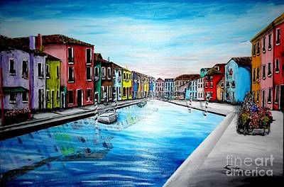 Most Popular Painting - Springtime In Burano by Irving Starr