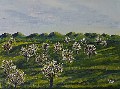 Painting - Springtime In Emmental by Felicia Tica