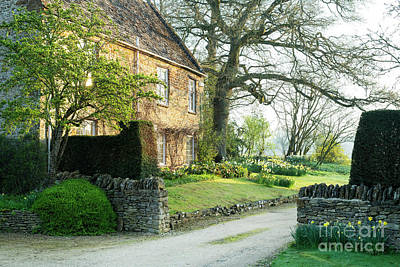 Photograph - Springtime In Little Tew by Tim Gainey