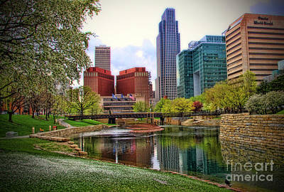 Photograph - Springtime In Omaha by Elizabeth Winter
