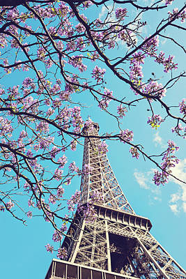 Photograph - Springtime In Paris - Eiffel Tower Photograph by Melanie Alexandra Price