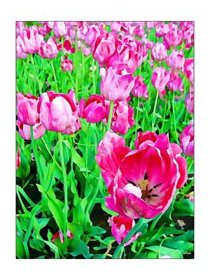 Photograph - Springtime In The Garden 2 by Tatiana Travelways
