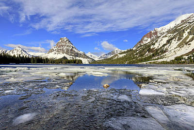 Photograph - Springtime In The Rockies by Jack Bell