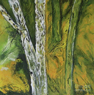 Cycles Painting - Springtime In The Woods  by Christiane Schulze Art And Photography