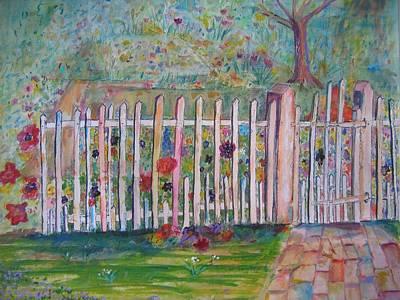 Springtime In Virginia Art Print by Marlene Robbins