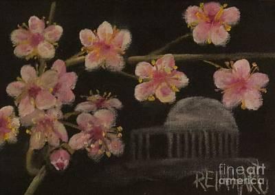 Jefferson Memorial Painting - Springtime In Washington D.c. by Ron Reinhart