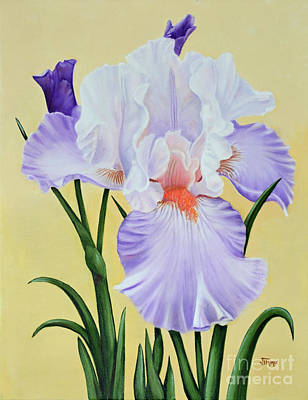 Painting - Springtime Iris by Jimmie Bartlett
