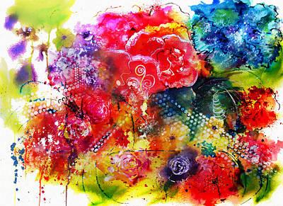 Plants Tree Art Mixed Media - Springtime by Isabel Salvador