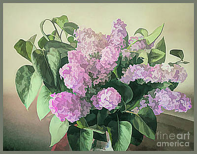 Photograph - Springtime Lilacs by Luther Fine Art