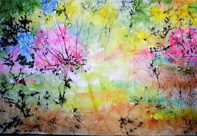 Springtime Art Print by Marilyn Brown