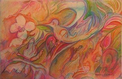 Springtime Art Print by Marlene Robbins
