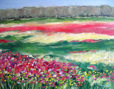 Springtime Memories Art Print by Marsha Young