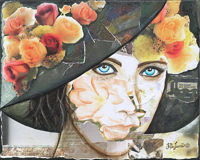 Mixed Media - Springtime Of The Soul by JoDee Luna