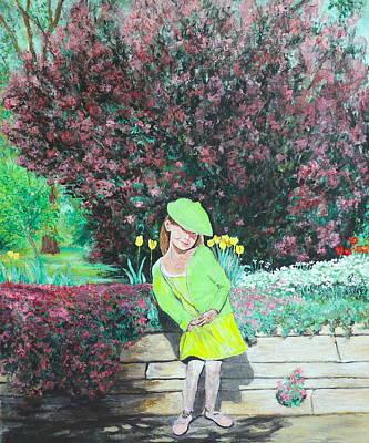 Painting - Springtime On Iris by Tom Roderick