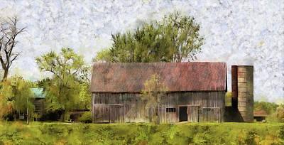 Photograph - Springtime On The Farm by Leslie Montgomery